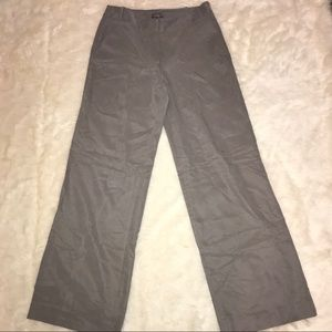 Vince Camuto Wide Leg Gray Trousers Silky Feel